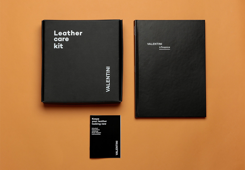 Catalogo e leather kit Valentini