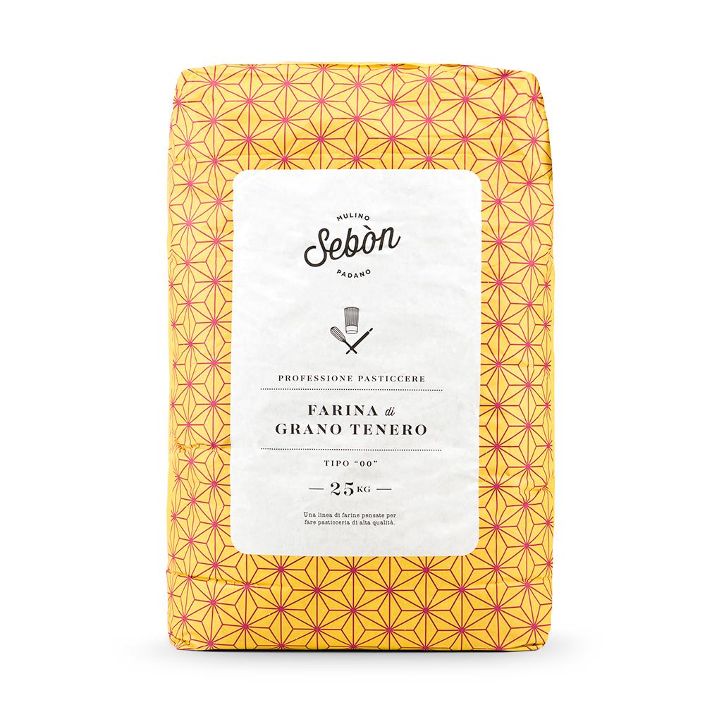 Progettazione packaging farina per pasticceria