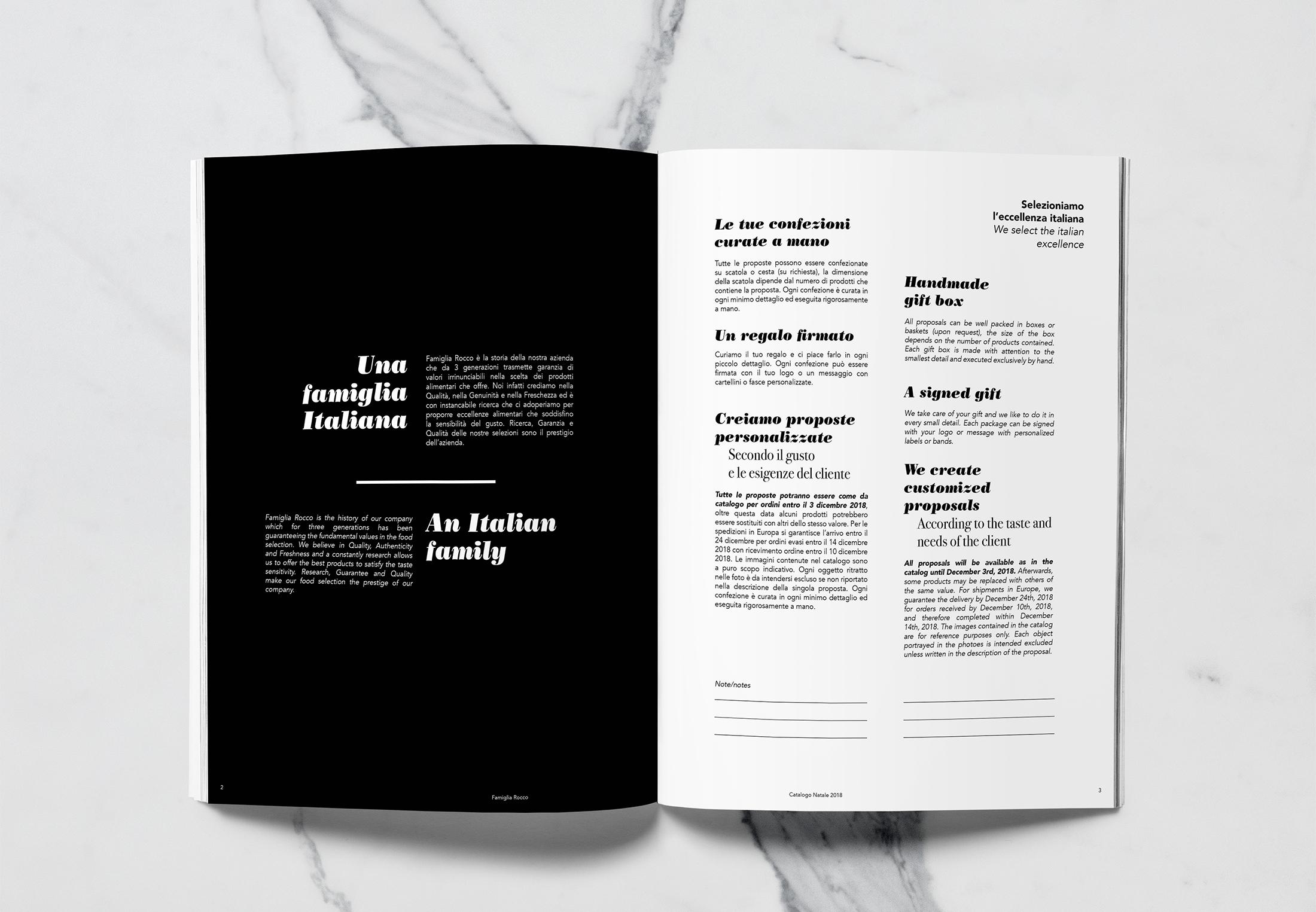 Progettazione catalogo prodotti tipici ceste natalizie-studio-grafico Padova Dry Design