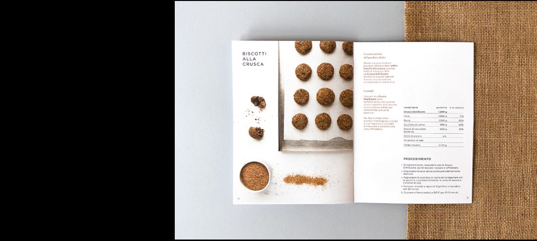 Brochure design GranEssere Mulino Padano