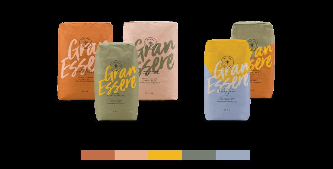 Packaging design flours