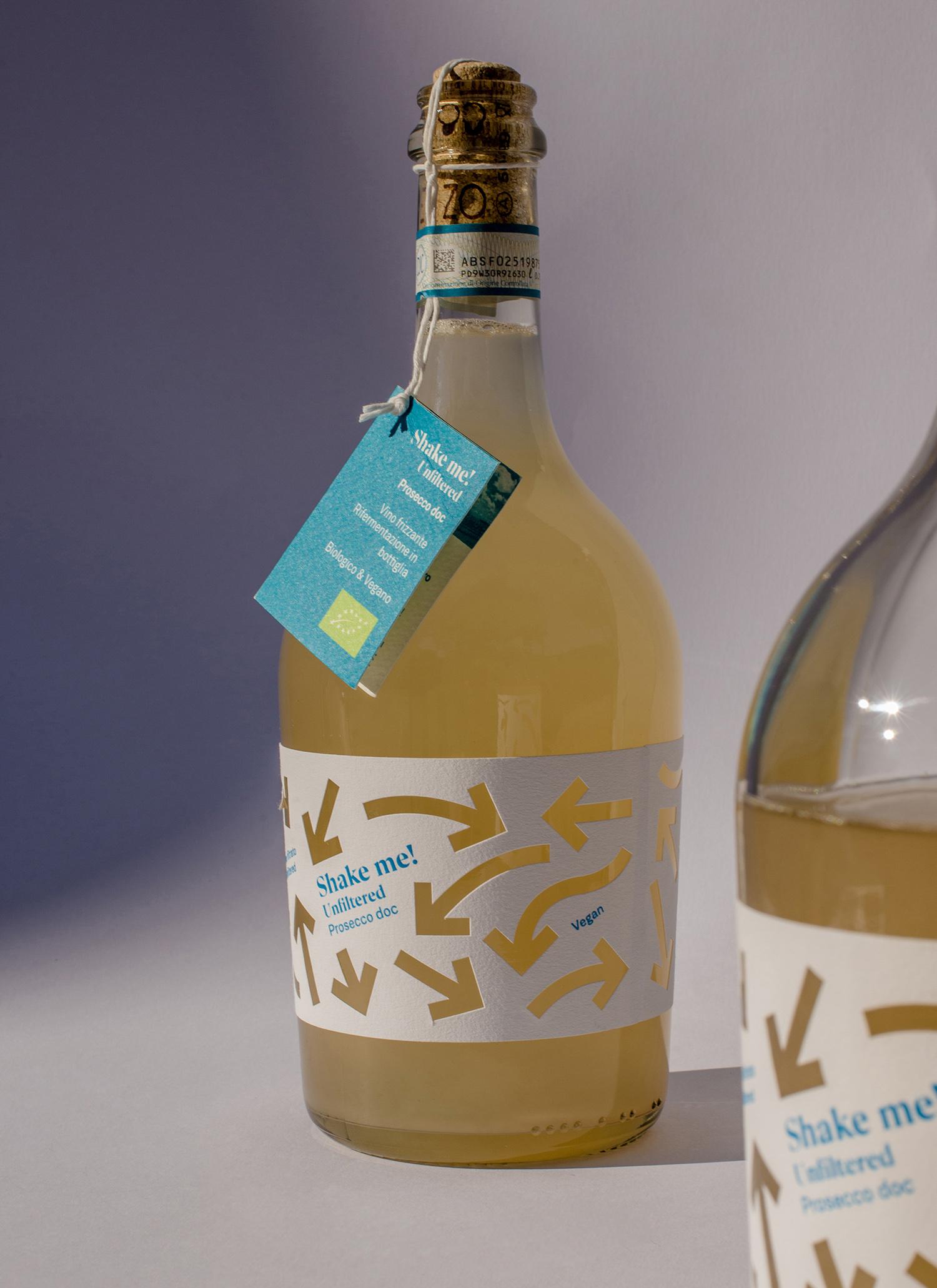 grafica etichetta vino prosecco